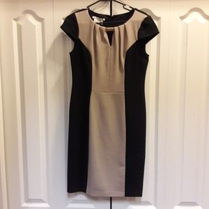 Maggy London Colorblock Dress EUC Sz 10
